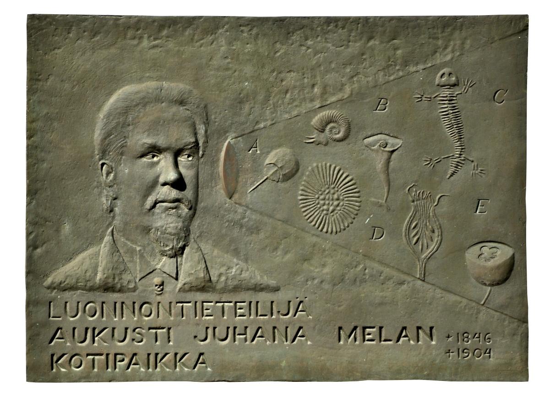 Aukusti Juhana Melan muistolaatta