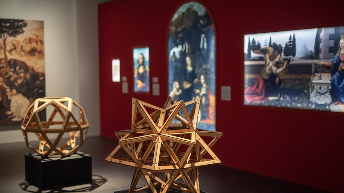 Kuva Kuopion taidemuseon näyttelytilasta